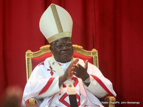 Cardinal Laurent Mosengwo Pasinya. Radio Okapi/Ph. John Bompengo