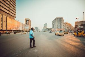 Boulevard de 30 Juin, Kinshasa (Photo: Nicolas-Patience Basabose)
